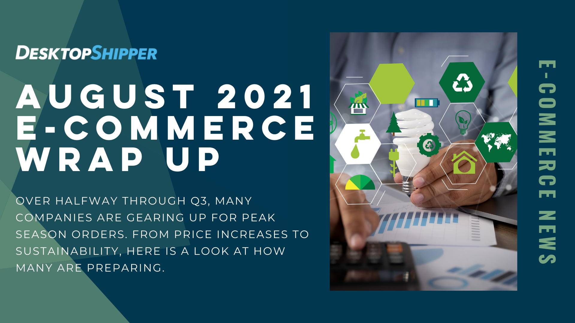 August E-Commerce News Update